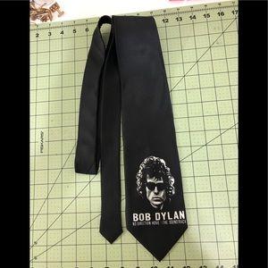 Bob Dylan Band concert black tie